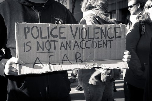 Mass Demonstration to End Police Violence Toronto 52 Division, Toronto Police Service Occupy Toronto 2012